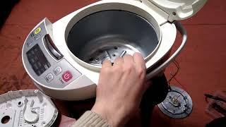Разборка и чистка мультиварки Redmond RMC-M4500