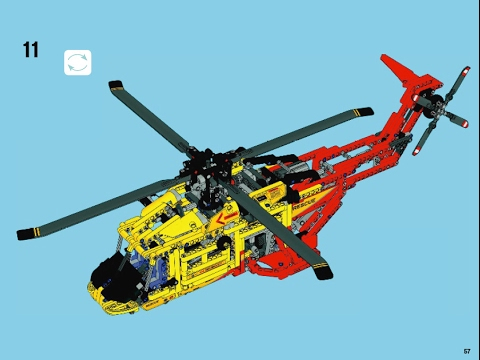 lego technic 9396 helicopter building instructions youtube. Black Bedroom Furniture Sets. Home Design Ideas