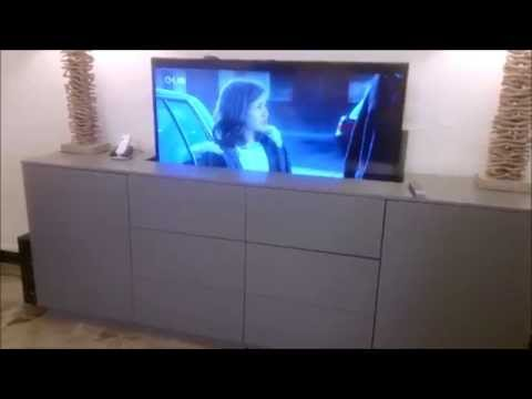 Meuble tv escamotable - 3 suisses meubles tv ...