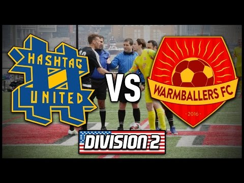 HASHTAG UNITED vs WARMBALLERS FC (Jimmy Conrad's Team) | #CocaColaUSTour