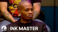 Ink Master Season 4, Episode 7: Cover-Up Elimination Tattoo
