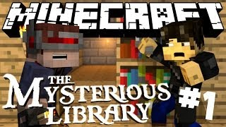 Minecraft - The Mysterious Library - Where is everyone? - Part 1
