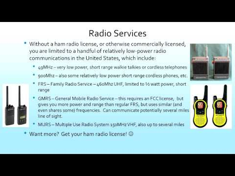 Introduction to Ham Radio and Technician Training Class