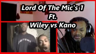 Wiley vs Kano - Lord Of The Mics 1 | MY REACTION |