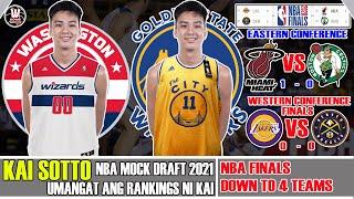 Latest: Kai Sotto Umangat sa NBA Mock Draft 2021 |  NBA Update | Japan: Watanabe - G League to NBA