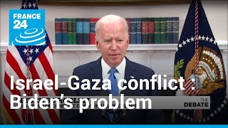 Biden's problem: Israel-Gaza conflict draws in US president