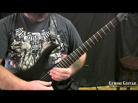 how to put guitar in drop d tuning