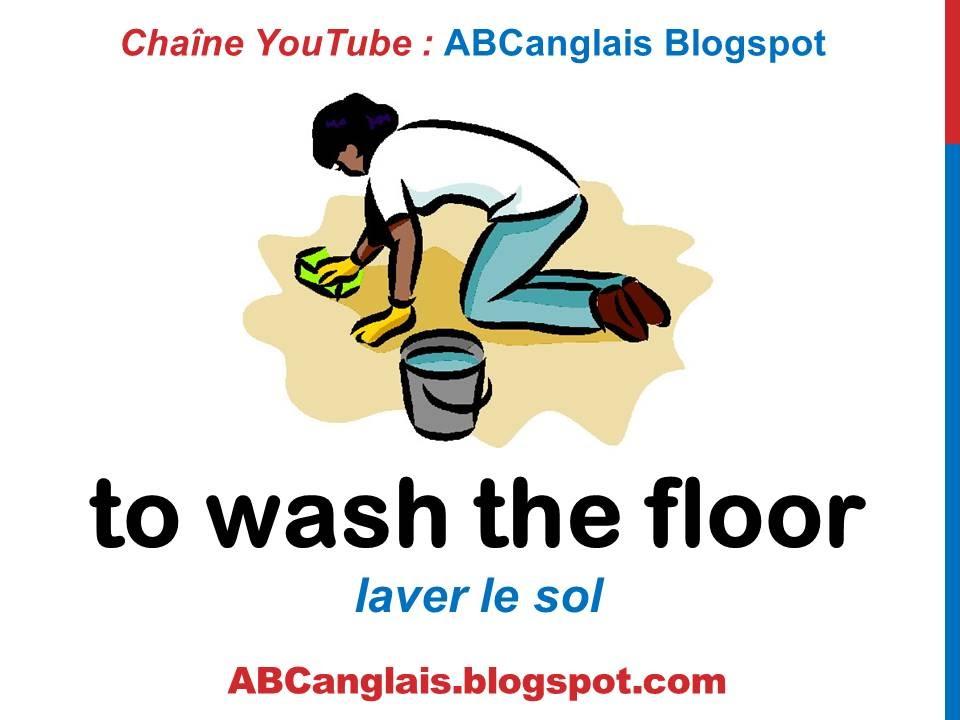 Cours d\u0027anglais 50 - Les tâches ménagères en anglais Vocabulaire Les - les taches menageres
