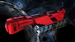 Lego Space Cargo Cruiser