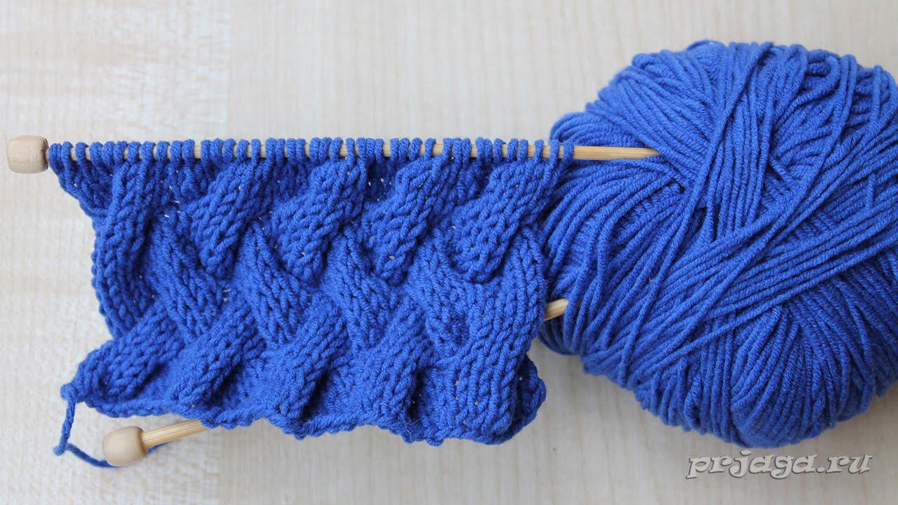вязание спицами рисунок косы