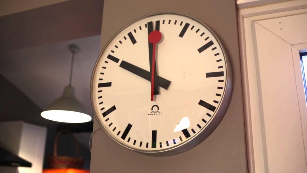 Swiss Railway Clock at Home  YouTube