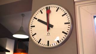 Swiss Railway Clock at Home