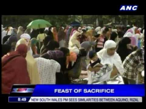 Muslims celebrate Eid'l Adha