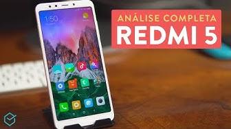Xiaomi Redmi 5 vale a pena? | Review / Análise Completa