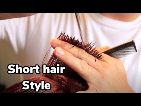TUTORIAL- HAIRCUT step by step -most trendy haircut ...