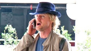 Owen Wilson Is Like 'Dude, Where's My Car' When He Can't Find His Driver At LAX! EXCLUSIVE