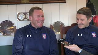 Steve Watson press conference