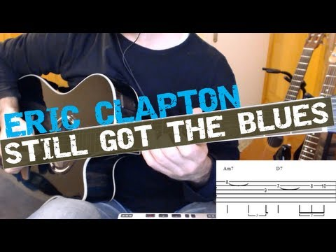 Still Got The Blues Gary Moore Eric Claptons Live Cover Guitar