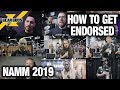We Asked These Artists How To Get Endorsed At NAMM 2019 | GEAR GODS