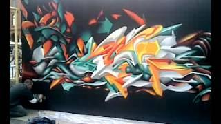 Urban Art Graffiti (Toulouse France) vid3
