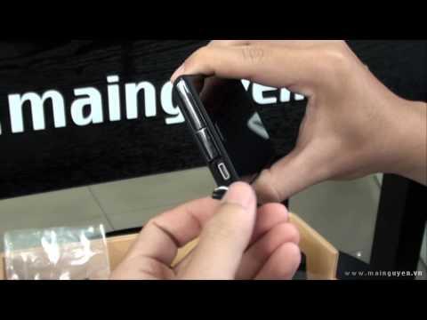 Khui hộp Sony Xperia acro S - www.mainguyen.vn