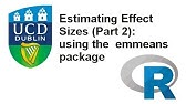 Post hoc testing in R using the emmeans package - YouTube