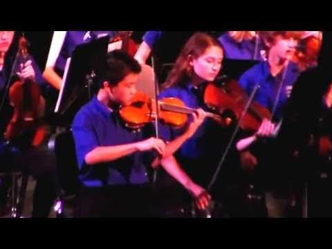 Jonathan Chen and Delaura Middle School String Orchestra 2016 Spring Concert