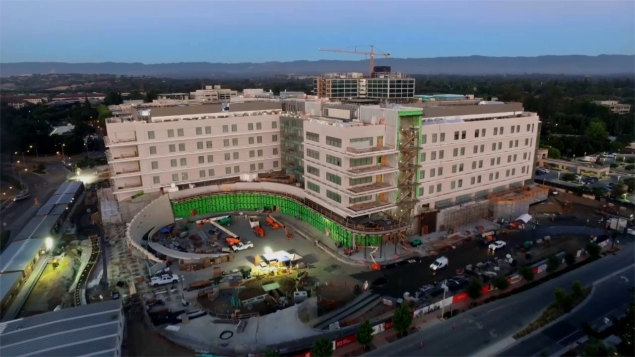 New Lucile Packard Children's Hospital Stanford - YouTube