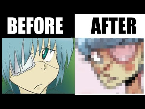 DID I FIX IT??? (Redrawing My DeviantArt Anime Drawings)