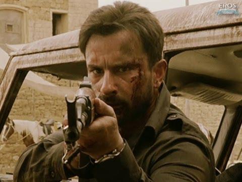Saif battles his enemies - Agent Vinod