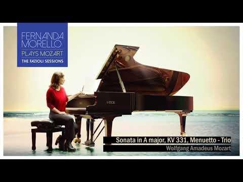 Sonata in A major, KV 331, Menuetto - Trio - W.A. Mozart by Fernanda Morello