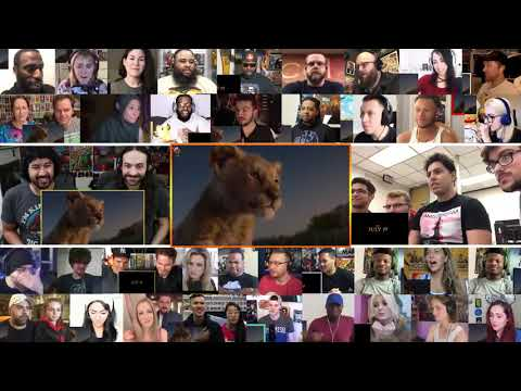 The Lion King Official Trailer REACTIONS MASHUP