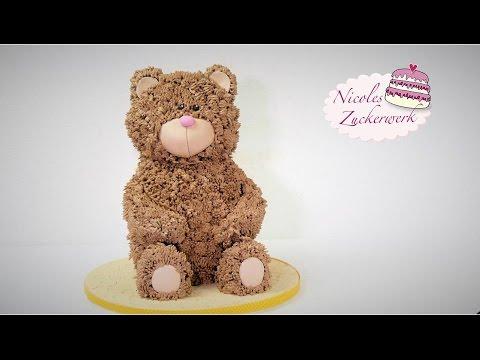 Teddy Torte Bär Motivtorte Bear Cake Von Nicoles Zuckerwerk You