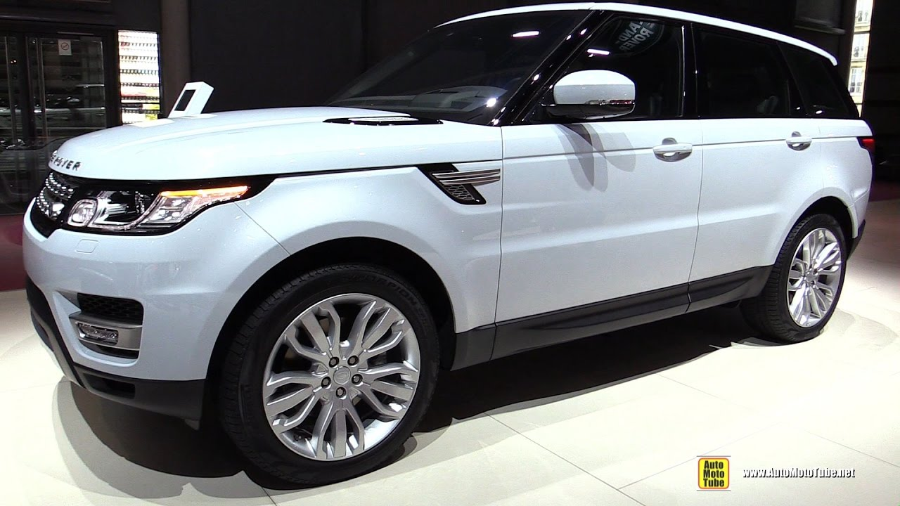 2017 Range Rover Sport Hse Sel Exterior And Interior Walkaround 2016 Paris Motor Show You
