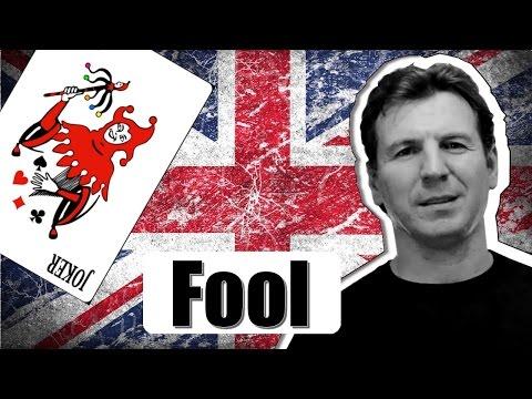 Разговорный английский - выражения со словом Fool