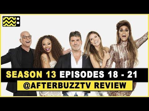 America's Got Talent Season 13 Episodes 18 - 21 Review & After Show w/  Samuel Comroe