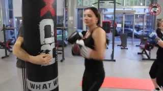 Бокс женская группа Центр фитнеса и бокса RDX Тренер Третьяк Максим