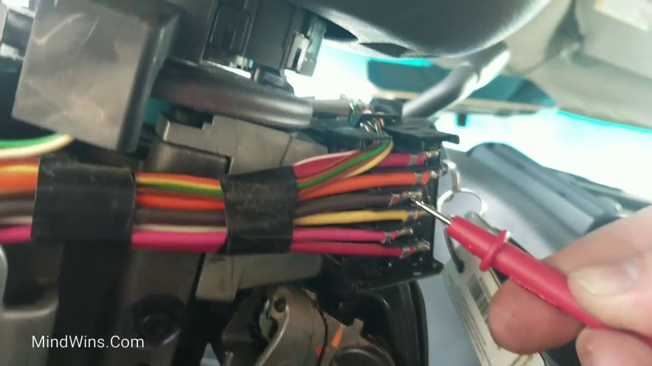 Which Wire to Put the Starter Kill Switch on 2000 Chevrolet Express  Explained. Work Van Security - YouTubeYouTube