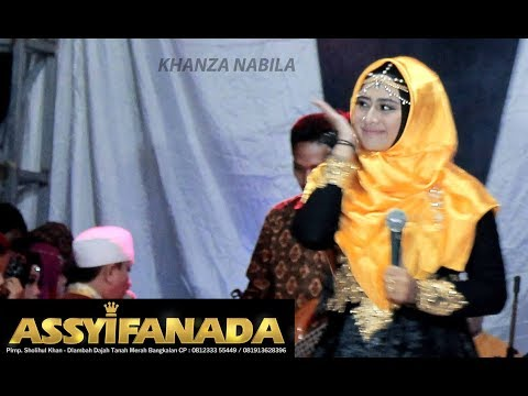KHANZA NABILA LIVE Ya Habibal Qolbiy   Assyifanada Terbaru