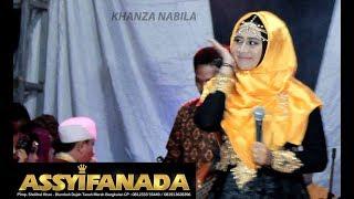 KHANZA NABILA LIVE Ya Habibal Qolbiy | Assyifanada Terbaru
