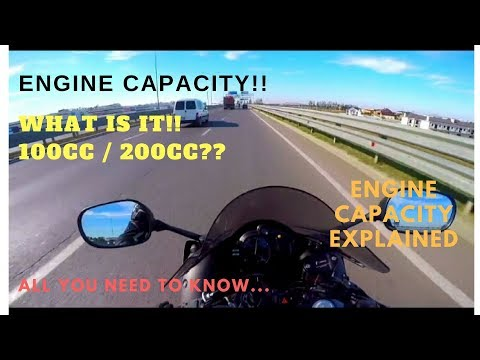 Engine capacity/ Displacement of bikes | What it means? Effects on performance| All you need to know
