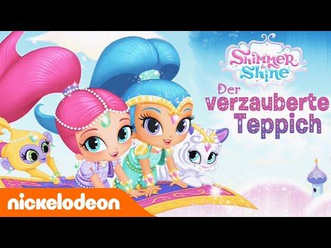 Shimmer & Shines verzauberter Teppich - iOS & Google Play Apps für Kinder & Vorschüler auf Deutsch