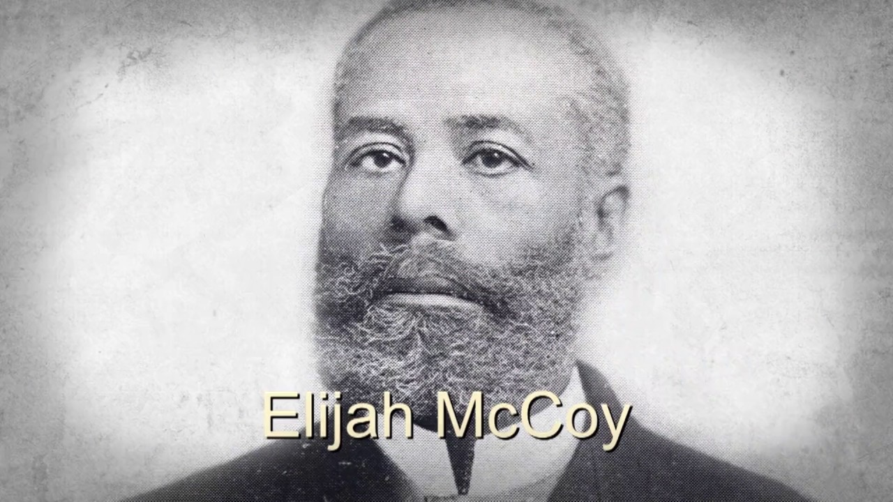 elijah mccoy Elijah mccoy was the inventor of a device that allowed machines to be lubricated while they were still in operation machinery buyers insisted on mccoy lubrication systems when buying new machines and would take nothing less than what became known as the real mccoy.