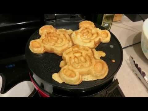 b5bca437f Making REAL Mickey Waffles....AT HOME!! - YouTube