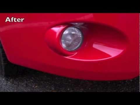 Vehicle Paint Scratch Refinishing & Scuff Repair