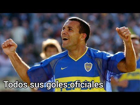 Todos los goles oficiales de Pedro Iarley en Boca