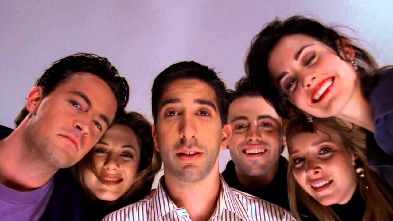Friends S01e23 The One With Birth Finishing Scene