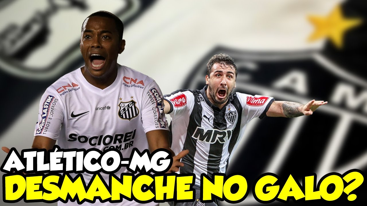MERCADO DA BOLA SANTOS - ROBINHO NO SANTOS E LUCAS PRATTO FORA DO ATLÉTICO  MG!  - YouTube a8745758cc384