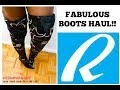 MIND-BLOWING QUALITY!! | Ankle Booties & Thigh High Boots from RAINBOW APPAREL