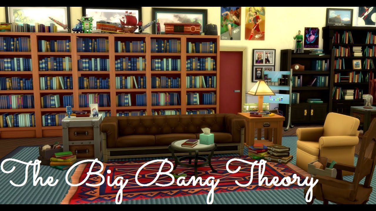 Sims 4 House Build The Big Bang Theory Sheldon And